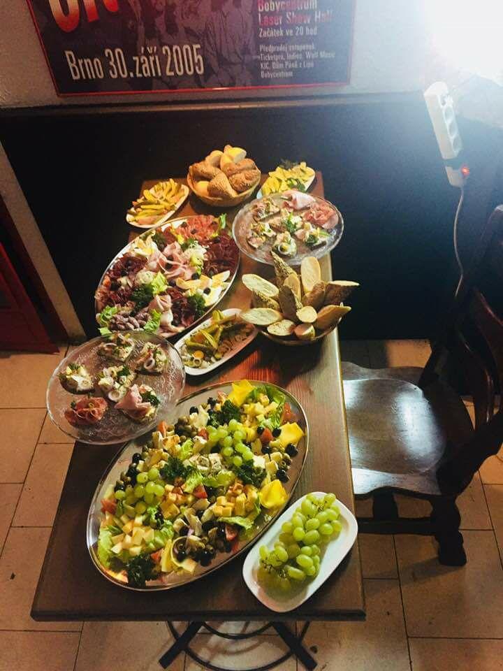 Našé cateringové služby